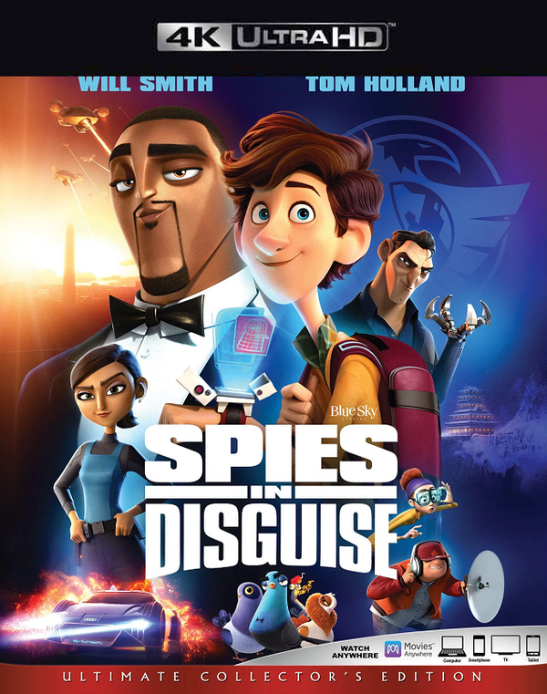Spies in Disguise VUDU 4K iTunes 4K via MA