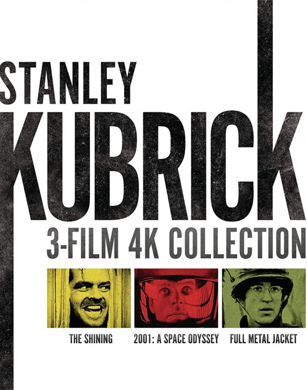 Stanley Kubrick 3-Film Collection MA 4K VUDU 4K *COMING SOON