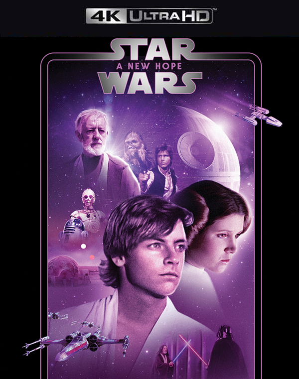 Star Wars A New Hope iTunes 4K (VUDU 4K via MA)