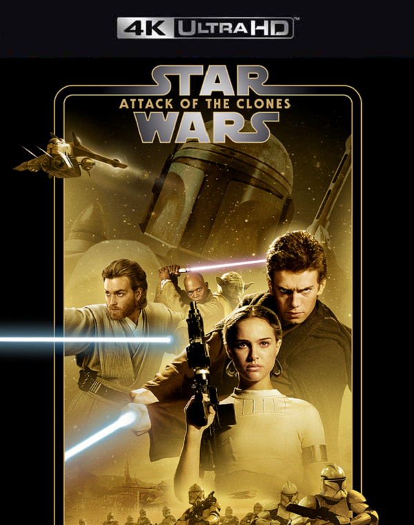Star Wars Attack of the Clones MA 4K VUDU 4K FandangoNow 4K