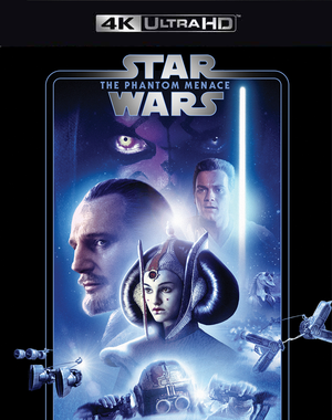 Star Wars The Phantom Menace MA 4K VUDU 4K FandangoNow 4K