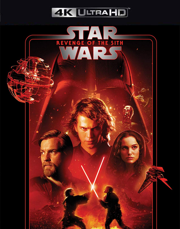Star Wars Revenge of the Sith MA 4K VUDU 4K FandangoNow 4K