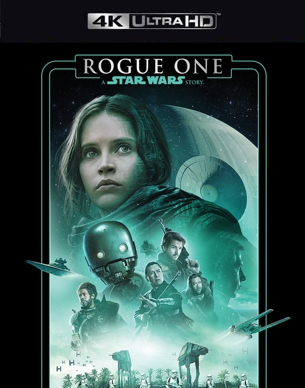 Rogue One A Star Wars Story MA 4K VUDU 4K FandangoNow 4K