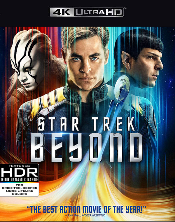 Star Trek Beyond iTunes 4K