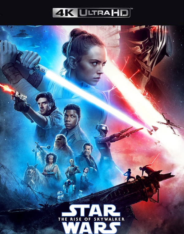 Star Wars The Rise of Skywalker MA 4K VUDU 4K FandangoNow 4K