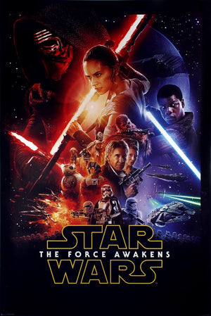 Star Wars The Force Awakens Google Play HD (Transfers to VUDU & iTunes via MA)