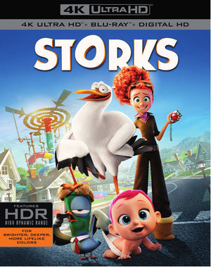 Storks VUDU 4K or iTunes 4K Via Movies Anywhere