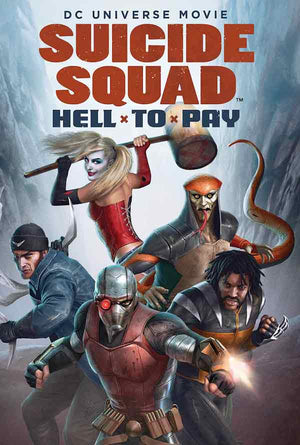 Suicide Squad Hell to Pay UV HD or iTunes HD via Movies Anywhere