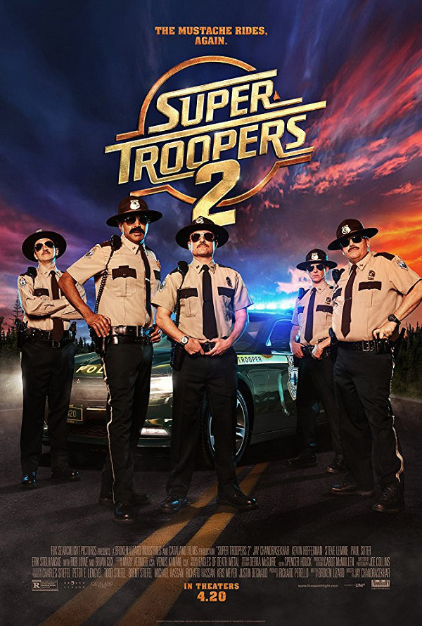 Super Troopers 2 VUDU HD or iTunes HD via MA