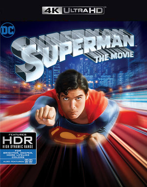 Superman the Movie VUDU 4K or iTunes 4K via MA