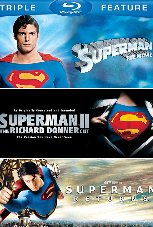 Superman Triple Feature UV HD or iTunes HD via Movies Anywhere