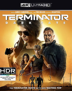 Terminator Dark Fate iTunes 4K