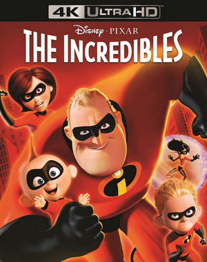 The Incredibles iTunes 4K (VUDU 4K via MA)