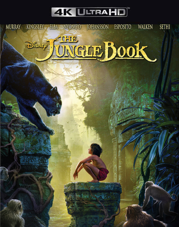 Jungle Book 2016 MA 4K VUDU 4K
