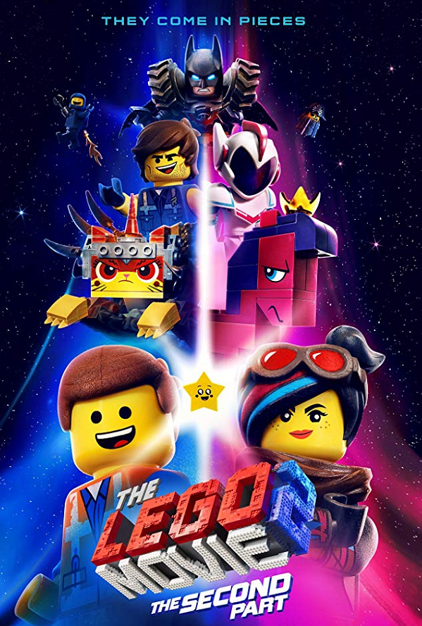The Lego Movie 2 The Second Part VUDU HD or iTunes HD via Movies Anywhere