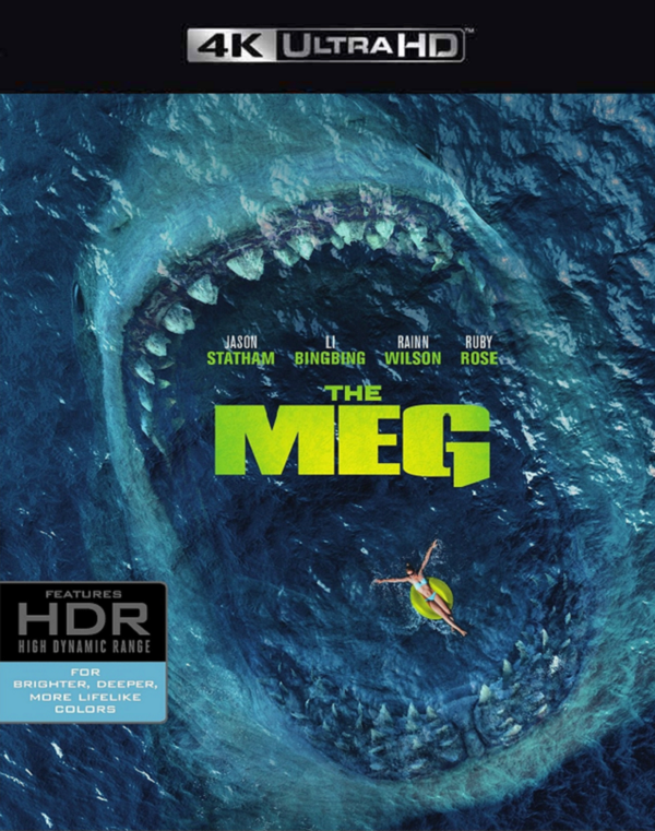The Meg VUDU 4K or iTunes 4K via Movies Anywhere Early Release