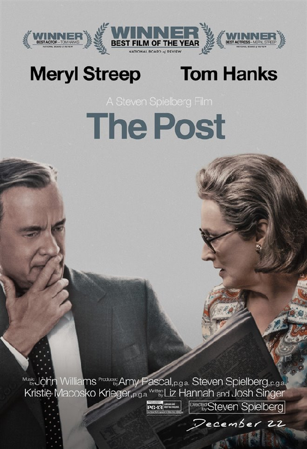 The Post VUDU HD or iTunes HD via Movies Anywhere
