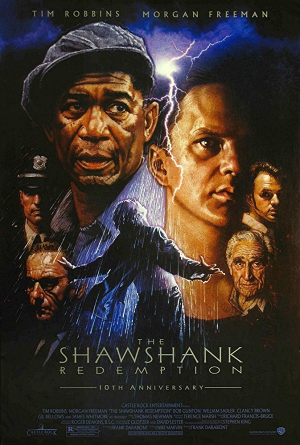 The Shawshank Redemption UV HD or iTunes HD via Movies Anywhere