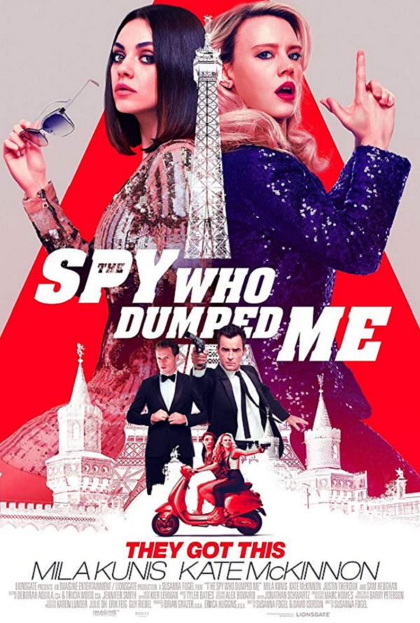 The Spy Who Dumped Me VUDU HD or iTunes 4K