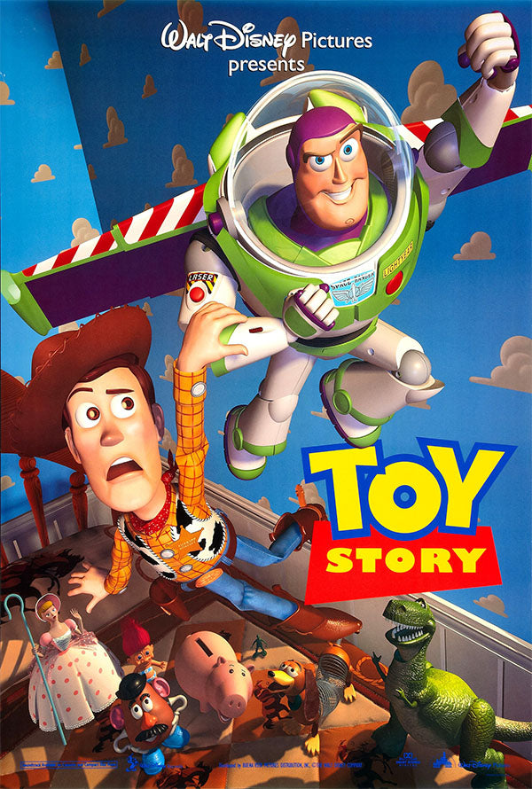 Toy Story 1 Google Play HD (VUDU and iTunes HD via MA)