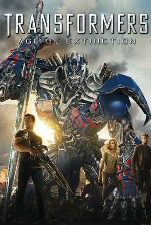 Transformers Age of Extinction VUDU HD or iTunes 4K
