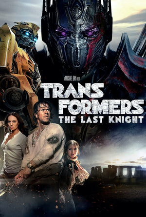Transformers The Last Knight VUDU HD or iTunes 4K