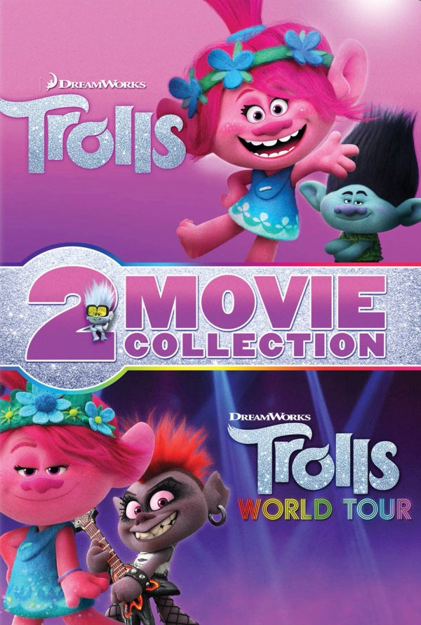 Trolls 2-Movie Collection VUDU HD or iTunes HD via MA