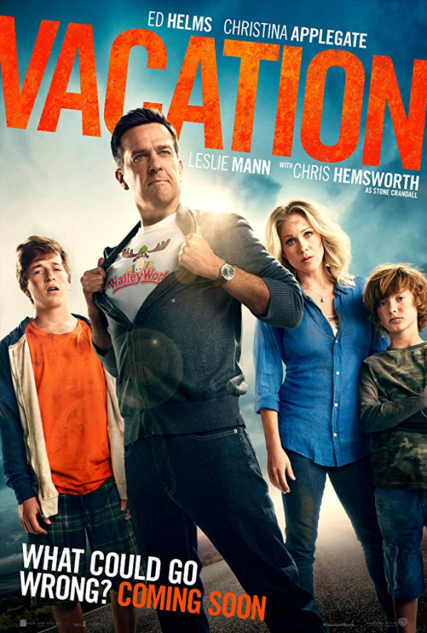 Vacation VUDU HD or iTunes HD via Movies Anywhere