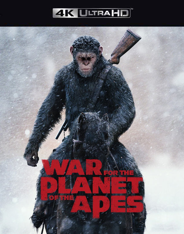 War for the Planet of the Apes VUDU 4K Through iTunes 4K