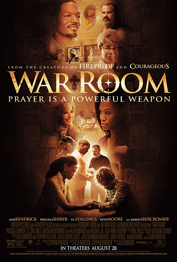 War Room UV SD or iTunes SD via Movies Anywhere