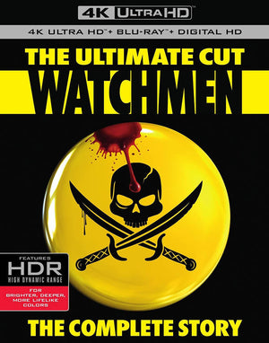 The Watchmen UV 4K or iTunes 4K Via Movies Anywhere
