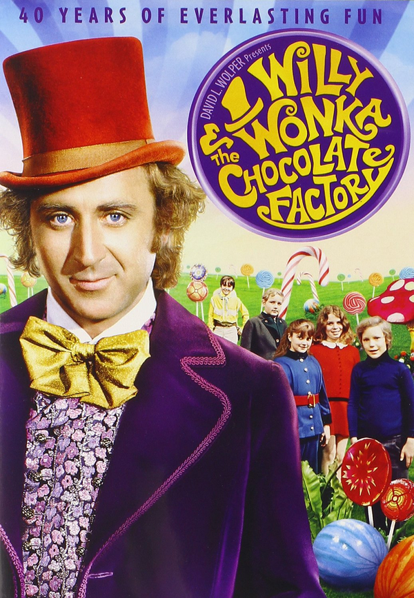 Willy Wonka and the Chocolate Factory UV HD or iTunes HD via Movies Anywhere