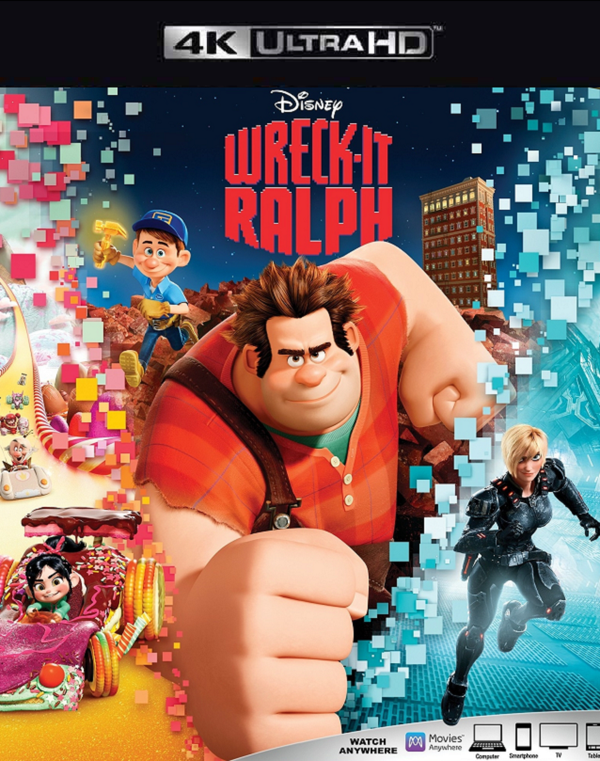 Wreck It Ralph Movies Anywhere 4K VUDU 4K