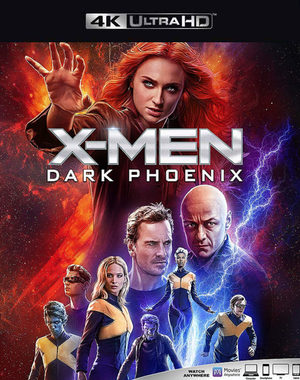 X-Men Dark Phoenix VUDU 4K or iTunes 4K via MA