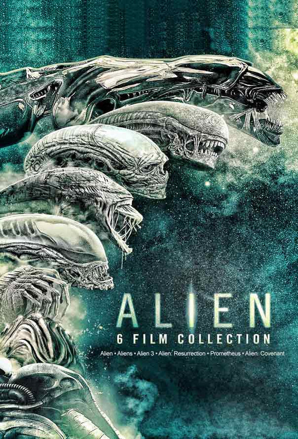 Alien 6-Film Collection UV HD or iTunes HD