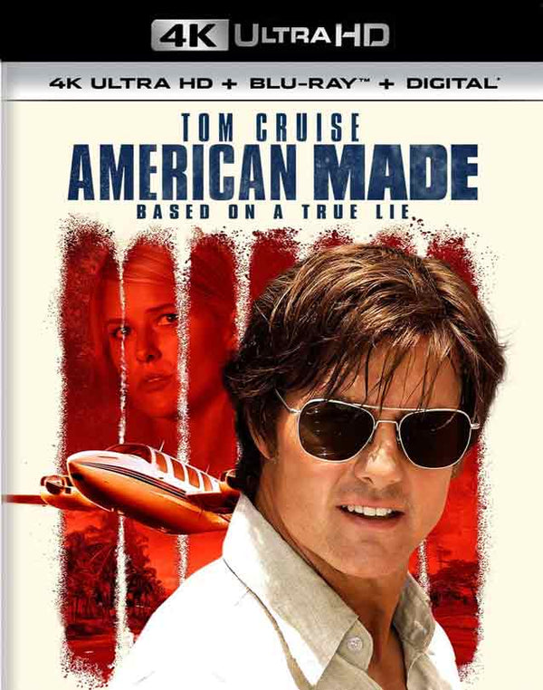 American Made UV 4K Fandango Now or iTunes 4K