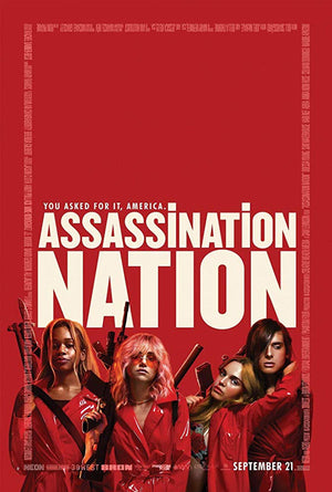 Assassination Nation VUDU HD or iTunes HD via Movies Anywhere