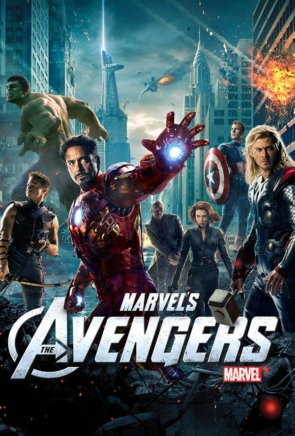 The Avengers MA, Vudu, iTunes HD