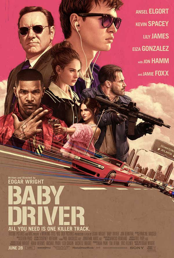 Baby Driver UV HD or iTunes HD via Movies Anywhere