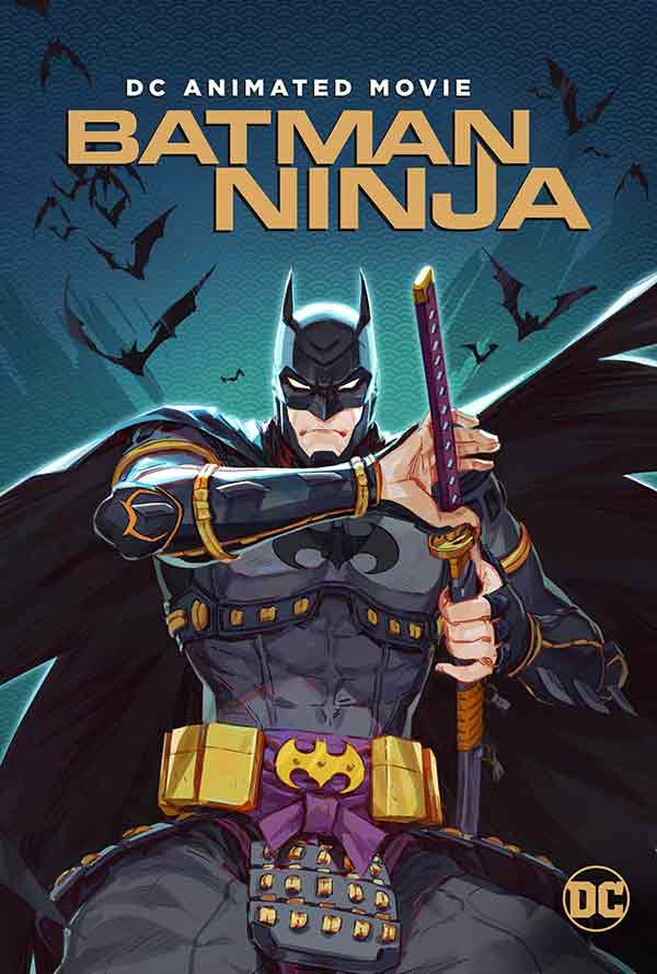 Batman Ninja VUDU HD Instawatch (iTunes HD via MA)