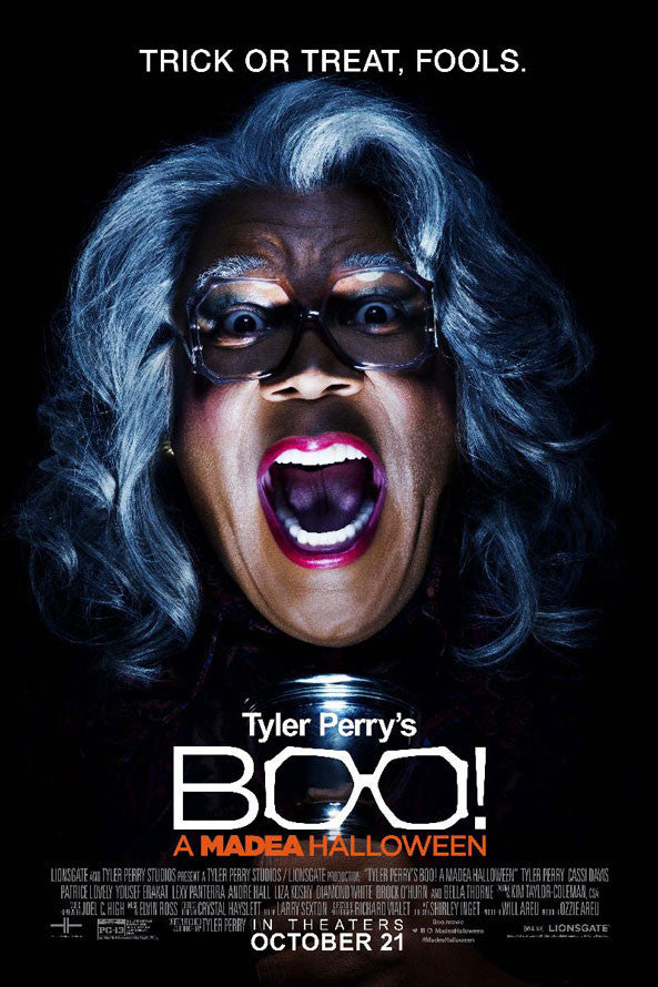 Boo A Madea Halloween VUDU HD or iTunes HD
