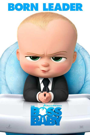 Boss Baby UV HD or iTunes HD via Movies Anywhere