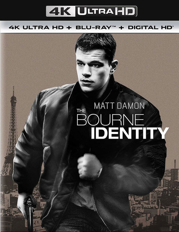 The Bourne Identity UV 4K