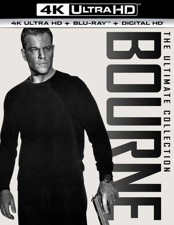 The Bourne Ultimate Collection UV 4K