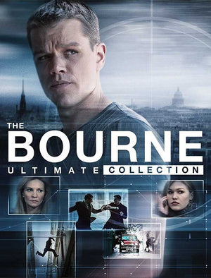 The Bourne Ultimate Collection VUDU HD or iTunes HD via Movies Anywhere