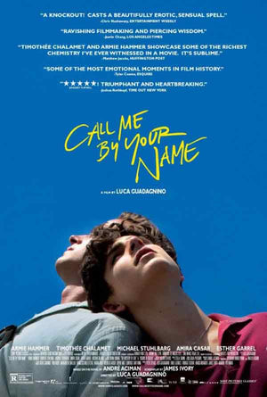 Call Me By Your Name VUDU HD or iTunes HD via Movies Anywhere