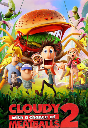 Cloudy with a Chance of Meatballs 2 VUDU HD or iTunes HD via MA