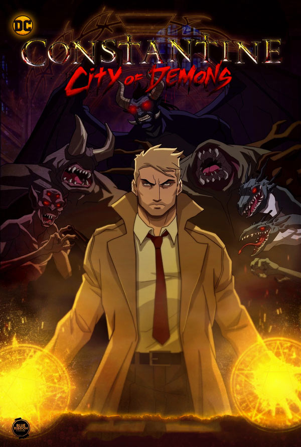 Constantine: City of Demons VUDU or iTunes HD via Movies Anywhere