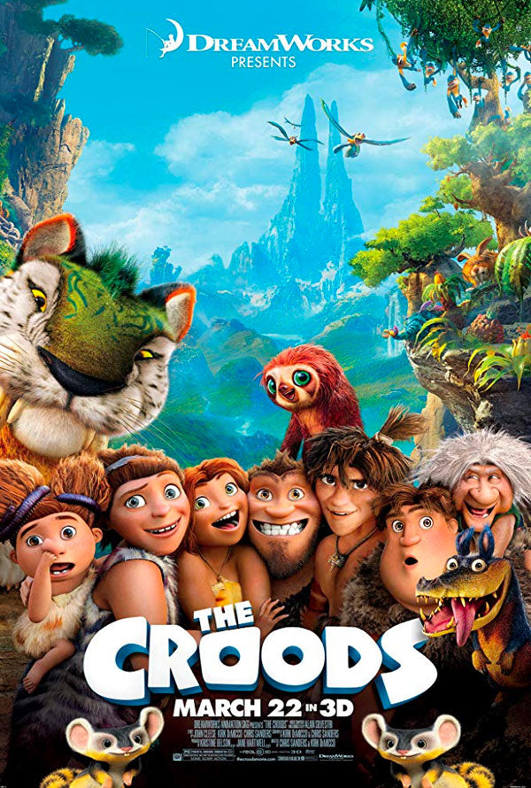 The Croods VUDU HD or iTunes HD via Movies Anywhere