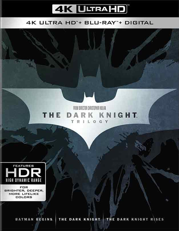 The Dark Knight Trilogy UV 4K and iTunes 4K via Movies Anywhere